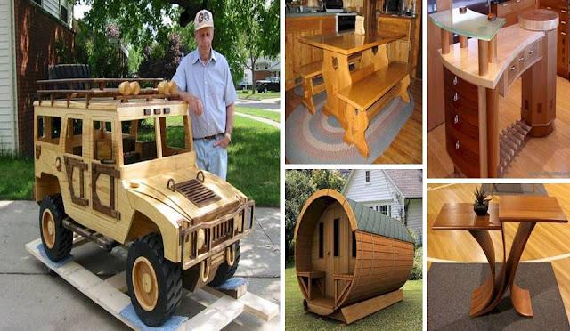 DIY – Unique Wooden Work Designs
