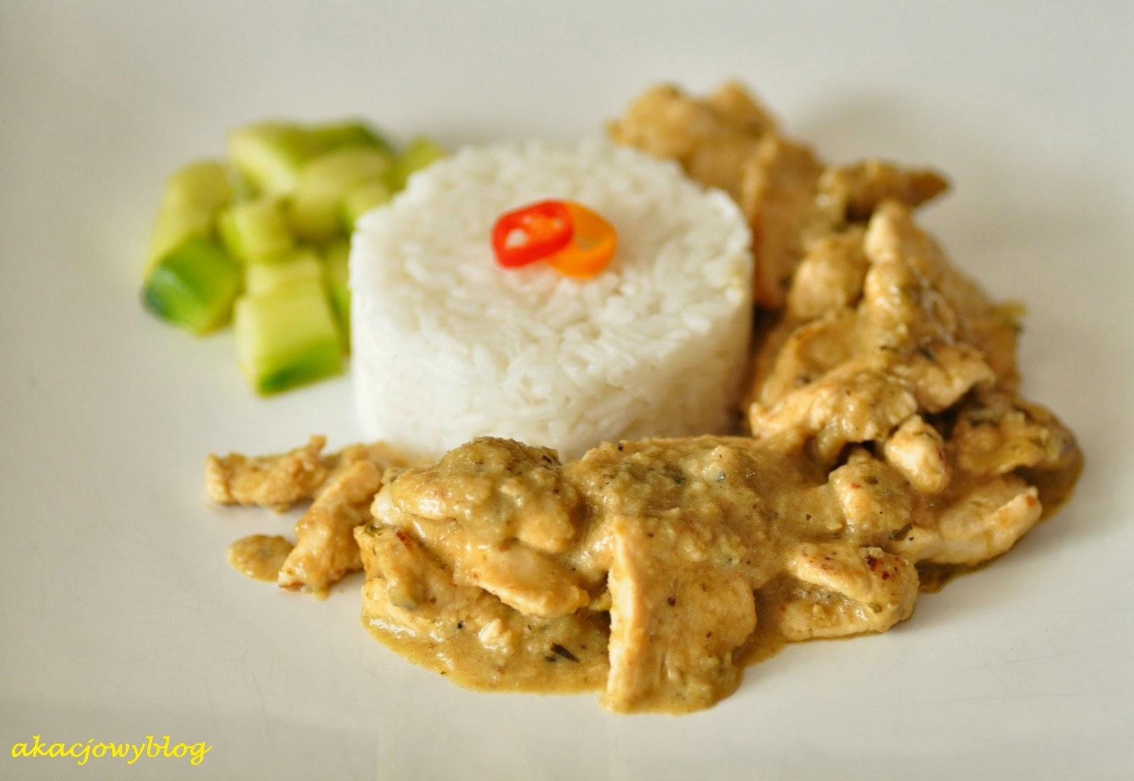 Chicken curry kapitan. Aromatyczny kurczak z Malezji.