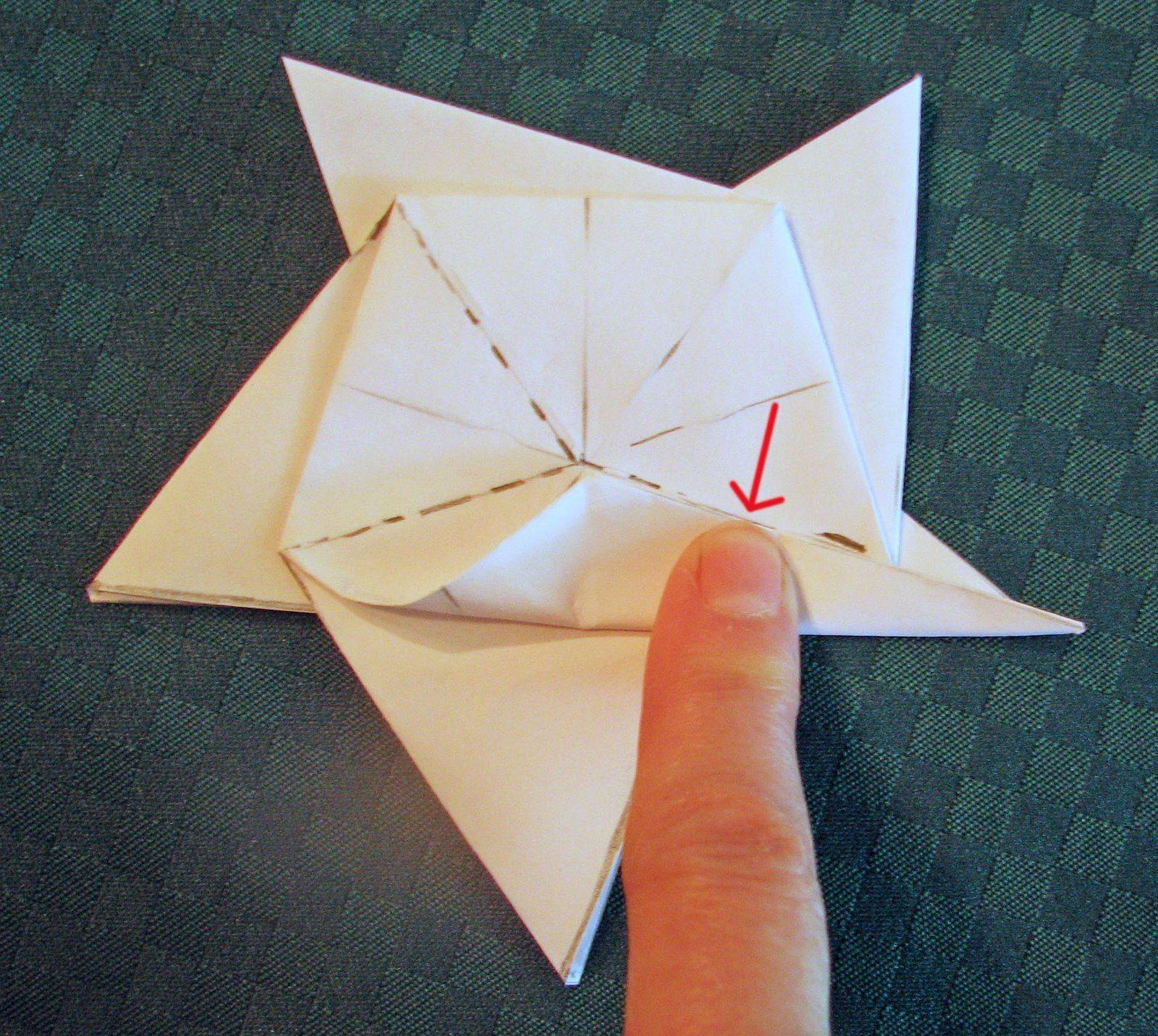 183 Как сделать звезду из бумаги к 9 мая
