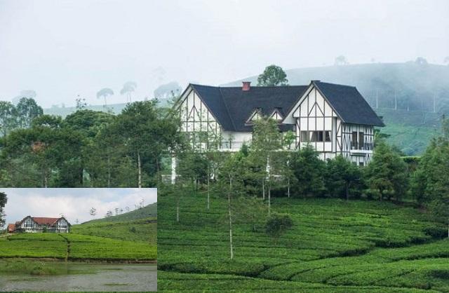 Situ Cukul dan Villa Cukul Pangalengan