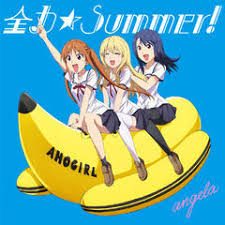 Download Lirik [Lyrics+Terjemah] Angela – Zenryoku☆Summer! [Aho Girl op]