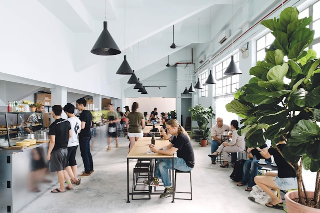 Guide to Cafes in the East.