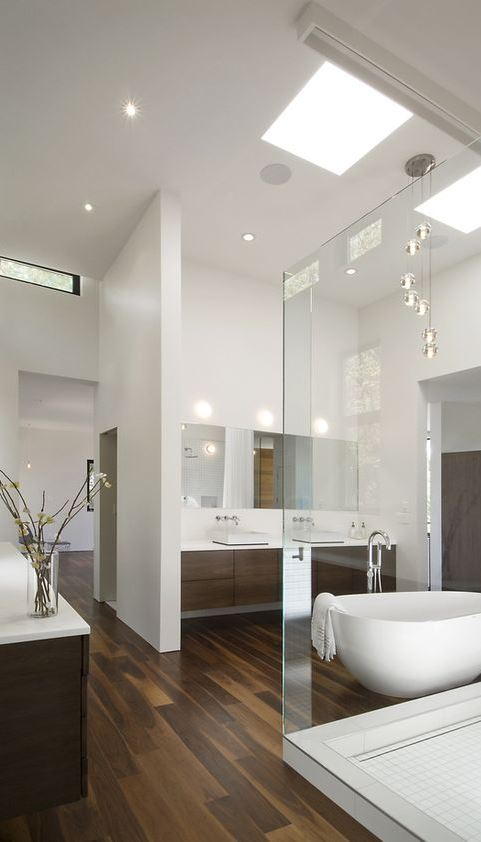 white bathroom design inspiration