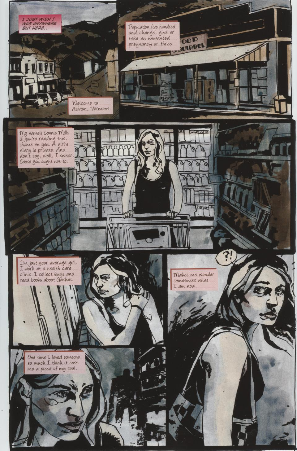 Read online Silent Hill: Dead/Alive comic -  Issue #1 - 6