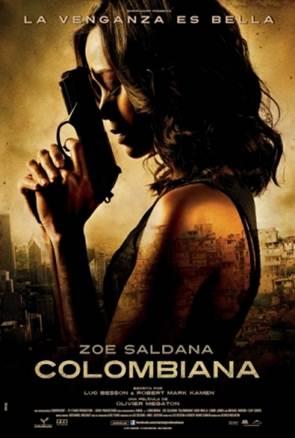 Colombiana Zoe Saldana DVDRip Subtitulos Español Latino