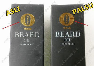 Perbedaan Logo Ombak Beard Oil Asli dan Palsu