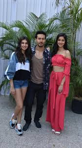 Tiger Shroff, Ananya Pandey, and Tara Sutaria step out to Promote SOTY2