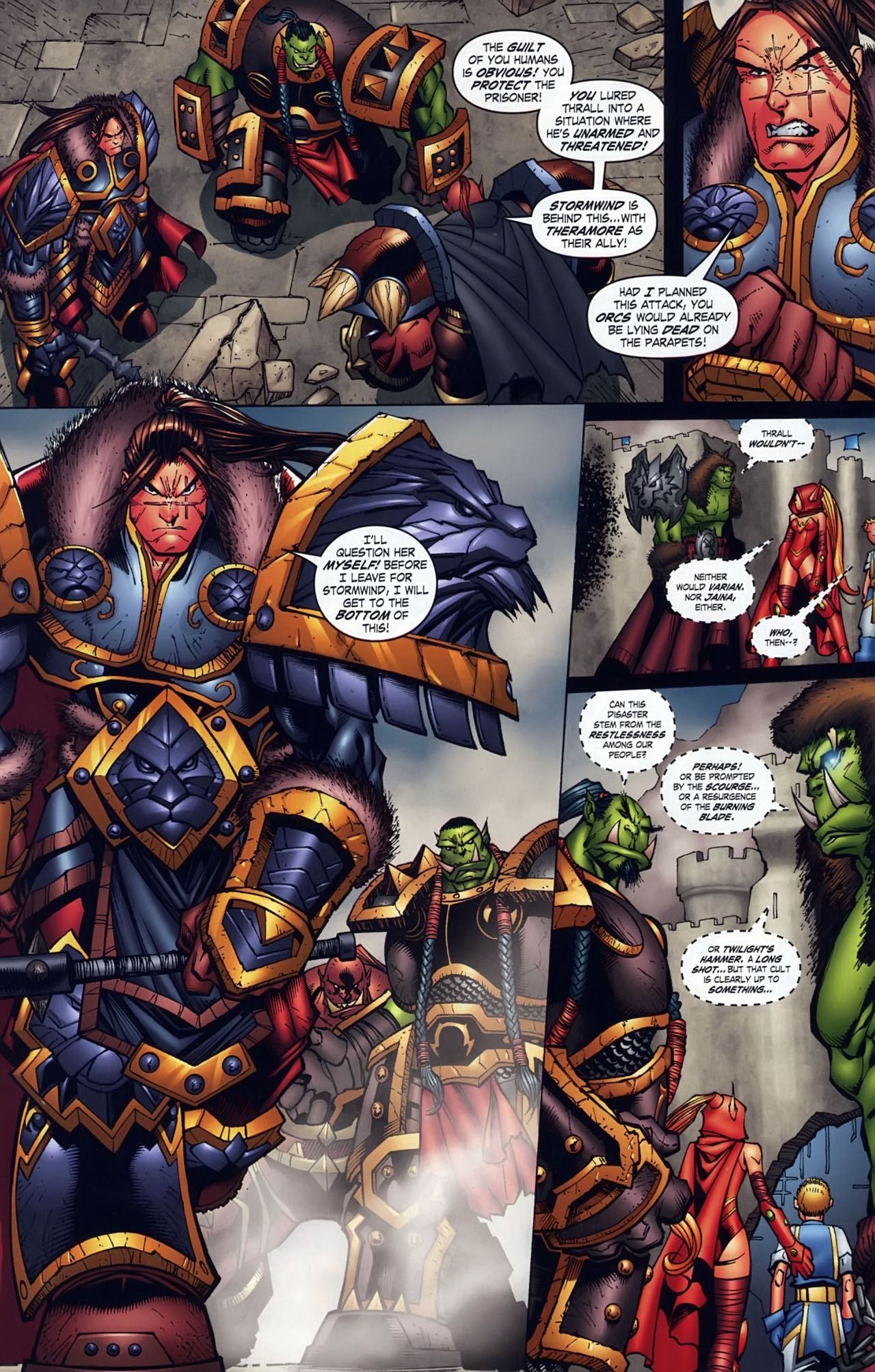 Read online World of Warcraft comic -  Issue #18 - 15