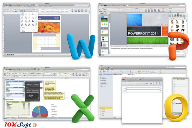 Microsoft Office 2011 For Mac OS Latest Version Free Download