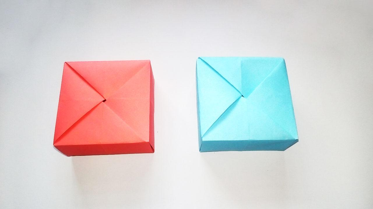 Rectangular Origami Box Instructions | 720x1280