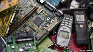 Nigerian Electronic waste Dump site