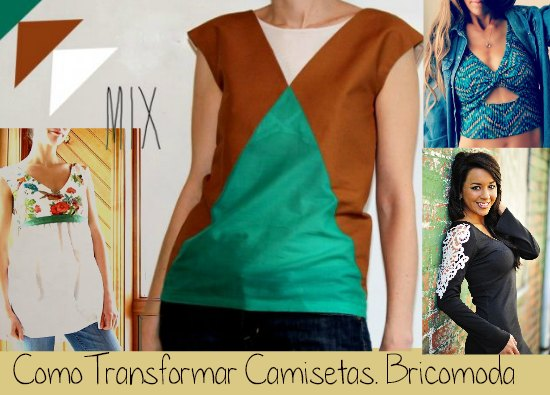 Como Transformar Camisetas Tutoriales Re-Fashion
