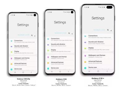 Samsung Galaxy S10 Manual and Tutorial Galaxy S10 Plus Galaxy S10E