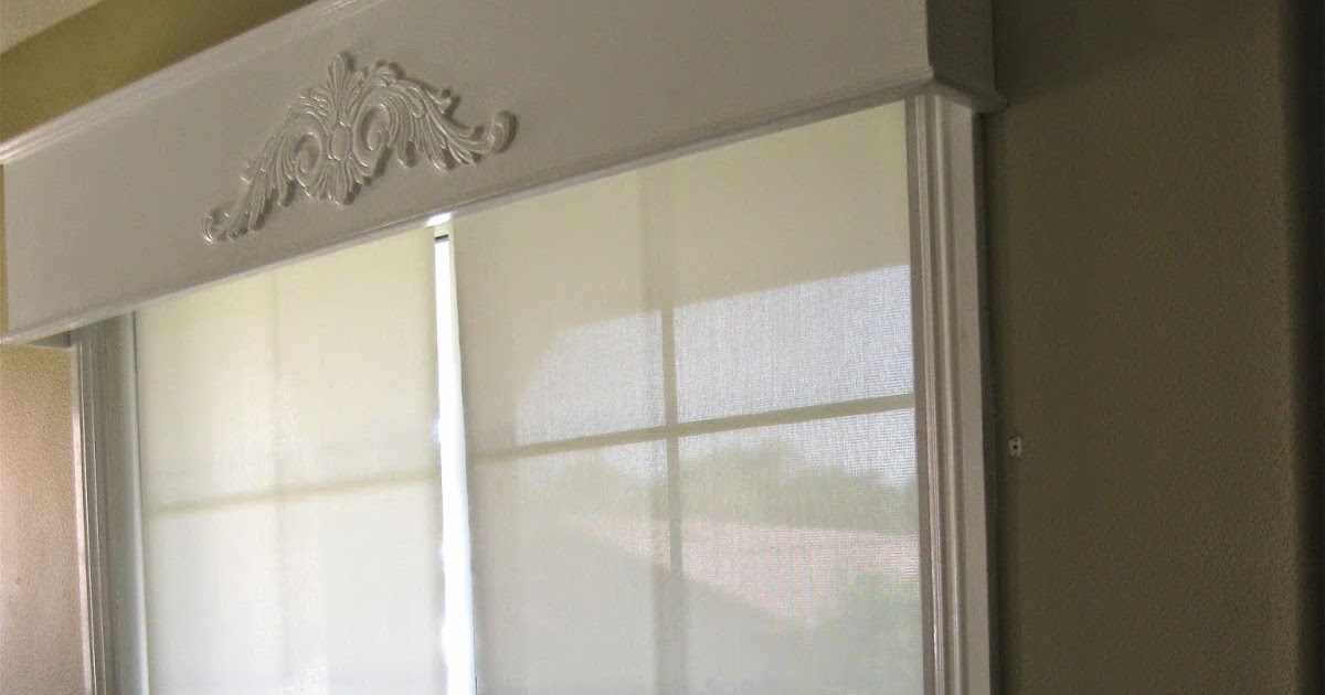 Scrap Ali Ever After Cornice Box For Sliding Glass Door
