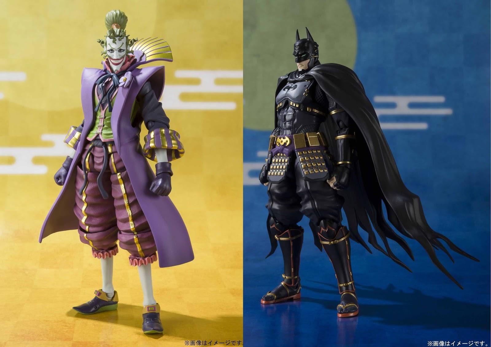 Ninja Batman Joker Demon King S.H SH Figuarts Action Figure BANDAI