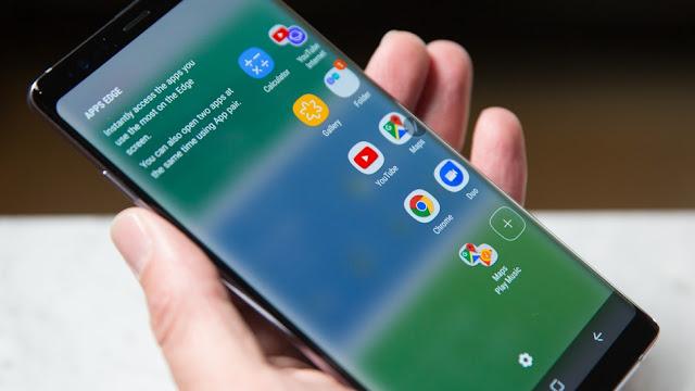 Samsung nueva pantalla de teléfono irrompible