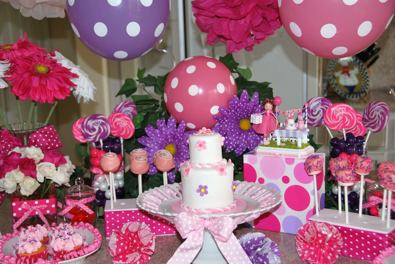 Kara's Party Ideas Pink & Gold Princess Themed Birthday Party  Pink And White Birthday Party