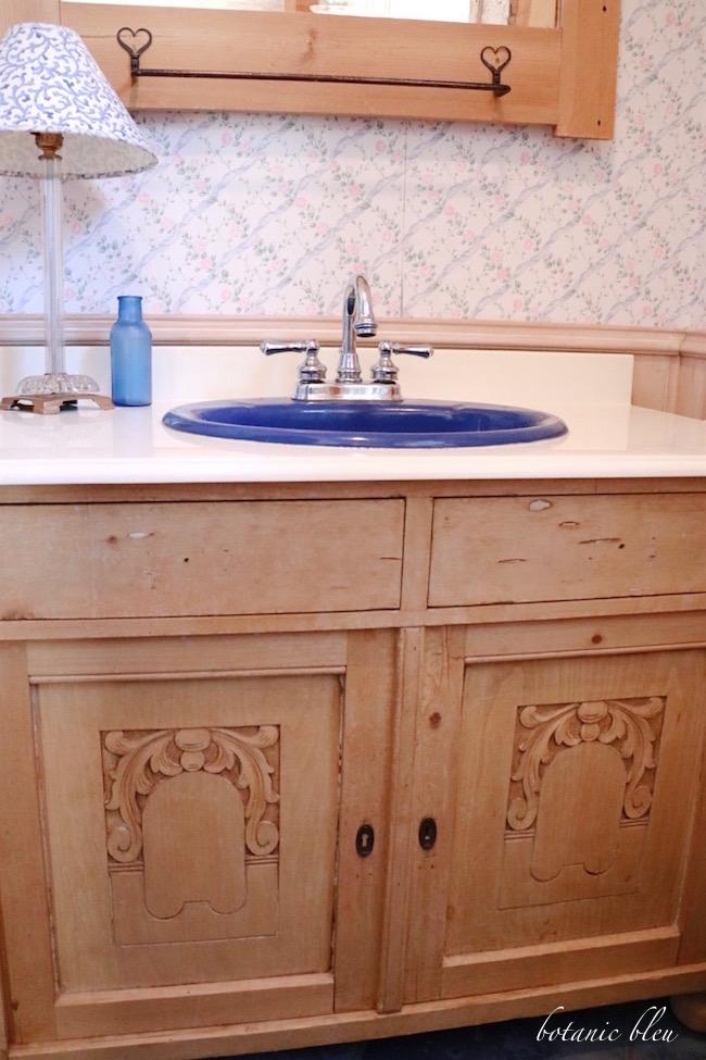 antique-pine-art-deco-washstand