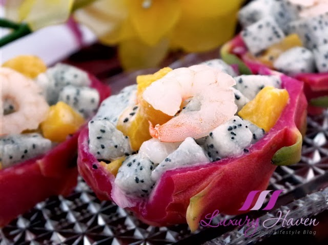 delicious cny prawn fruit salad recipe