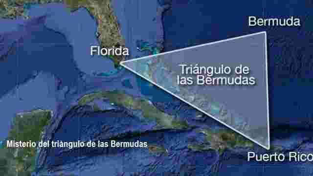 enigma del triangulo de las bermudas