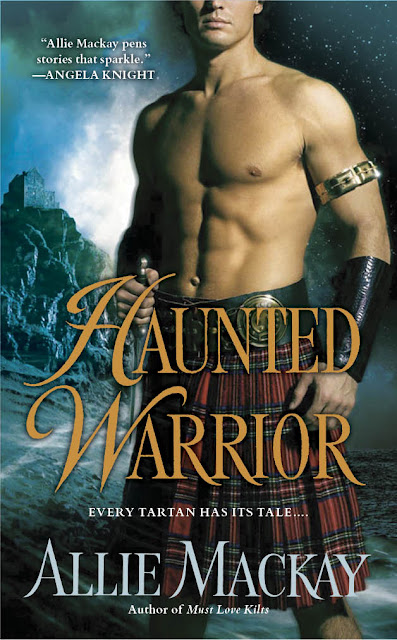 Guest Blog by Allie Mackay - Haunted Warrior – Behind The Opening Scene
