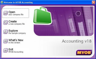 logo myob accounting v18
