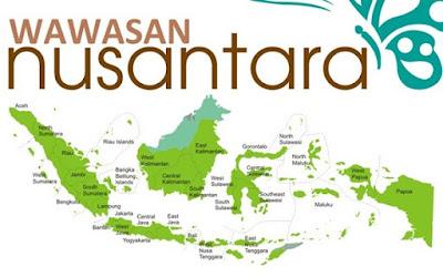 Wawasan Nusantara (Pengertian, Asas, Hakikat, Unsur Dasar, Implementasi)