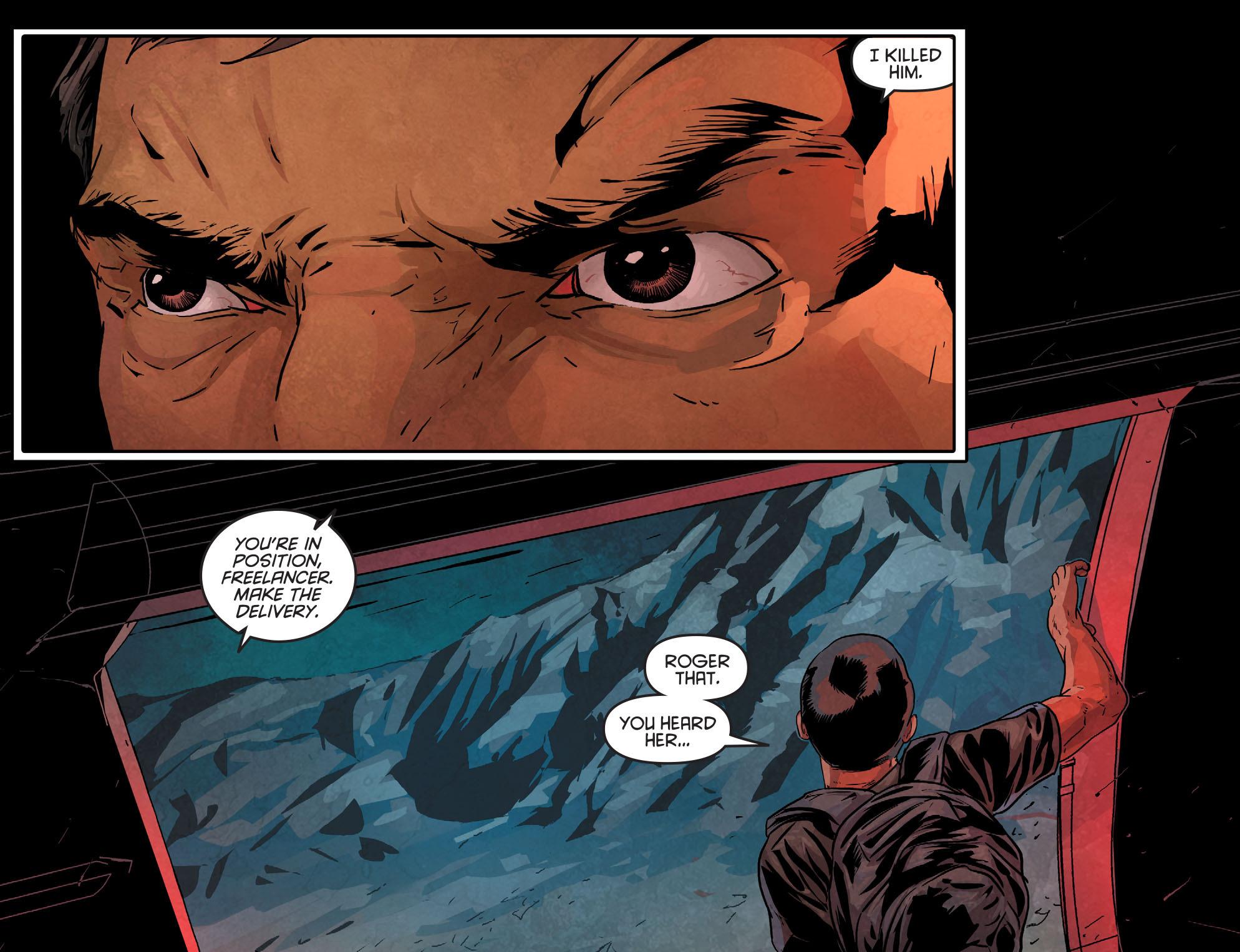 Read online Arrow: Season 2.5 [I] comic -  Issue #11 - 6