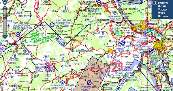 icao karte deutschland online ICAO Karten online anschauen   lu glidz