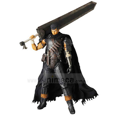 Figura Guts Black Swordsman Ver. Real Action Heroes (RAH) No.704 Berserk
