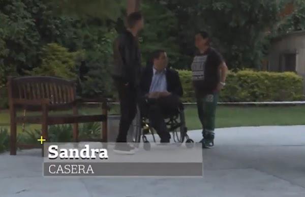 Video confirma que Sandra era casera de Triaca