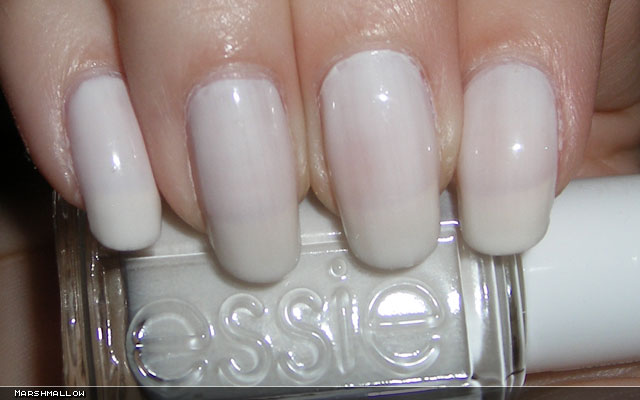 xoxoJen's swatch of Essie Marshmallow