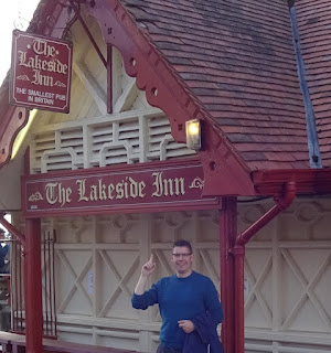 The Lakeside Inn at Southport, Britain's Smallest Pub