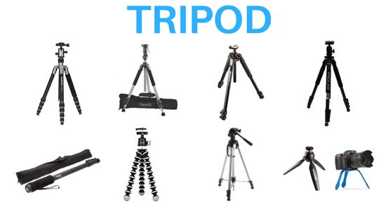 Guide to Tripod for Nikon D3300 D3200 and D3100 (9 Best