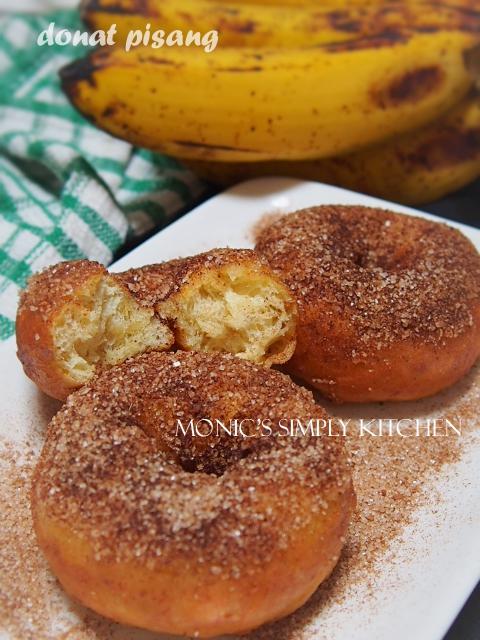resep donat pisang kayumanis