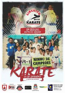 Circuito Sul Sudoeste Mineiro de Karate - 3ª Etapa