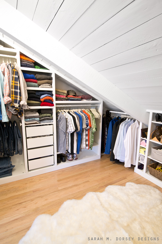 Sarah M Dorsey Designs Master Bedroom Closet Reveal