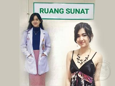 FOTO 1 : Dokter cantik Estelita Liana menjadi korban hoax