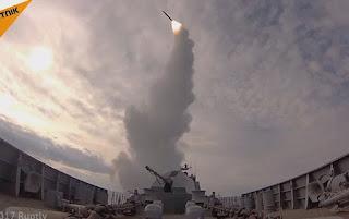 Kapal Angkatan Laut Rusia Latihan Militer