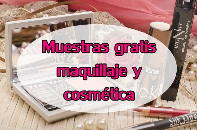 muestras gratis maquillaje y belleza