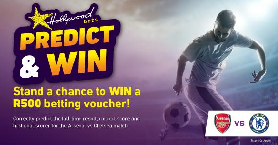 Predict & Win Game - Arsenal vs Chelsea