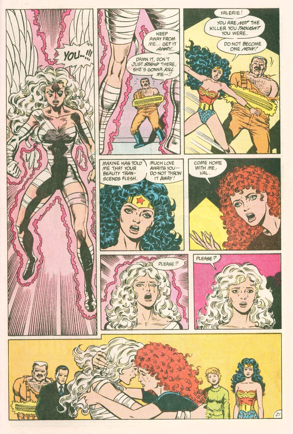 Read online Wonder Woman (1987) comic -  Issue #44 - 23