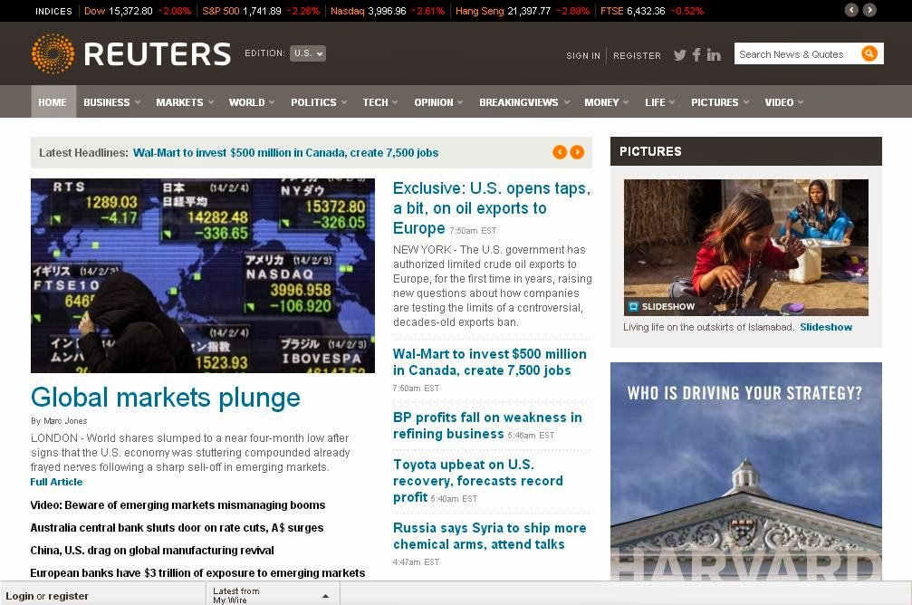 The Top 10 Highest Earning Websites in the World (Reuters)