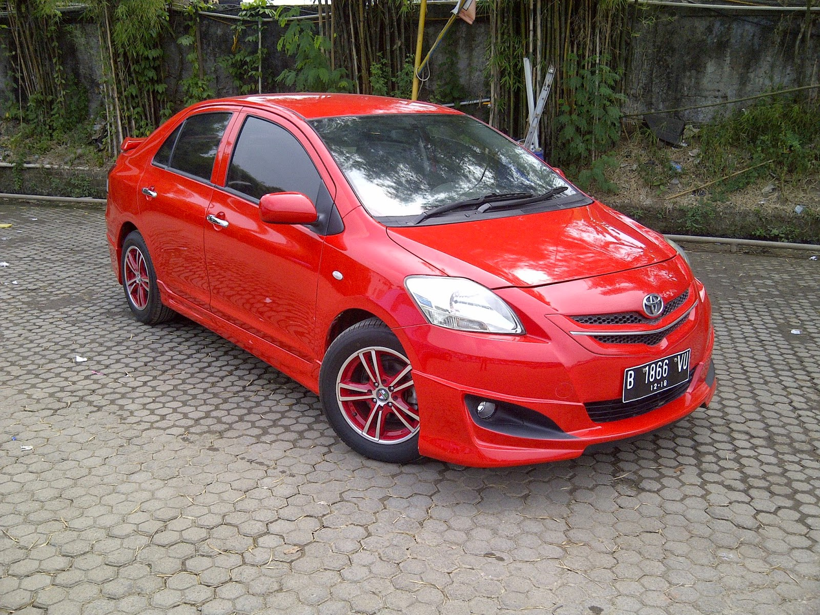 Toyota Yaris Trd Warna Merah Oli All New Kijang Innova Hasil Modifikasi Vios Limo 2007 Up Eksterior
