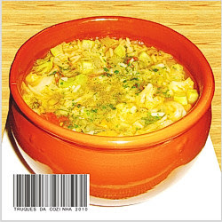 Sopa Deliciosa Simples com Legumes