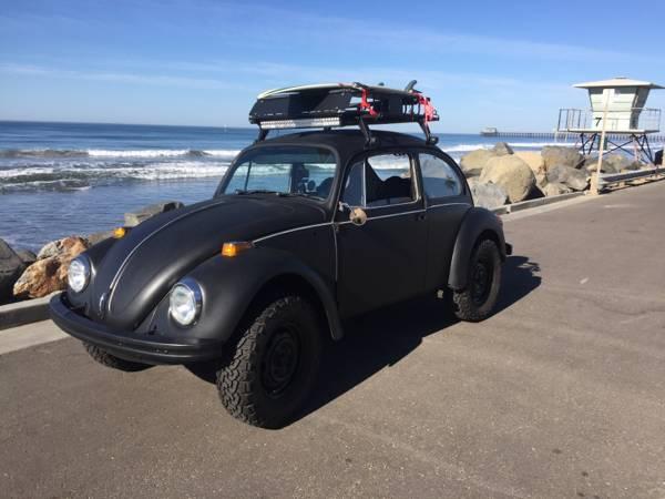 1973 VW Baja Black