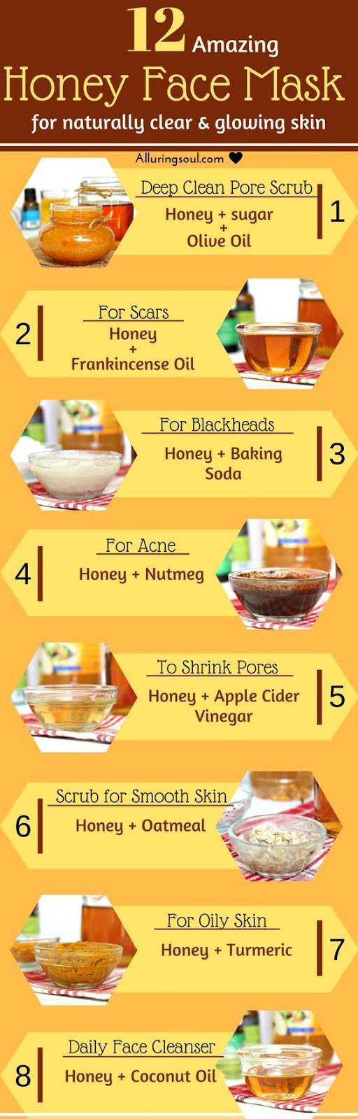 12 Honey Face Mask For Naturally Clear And Glowing Skin
