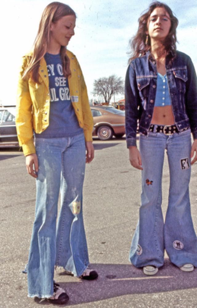 1960s denim styles