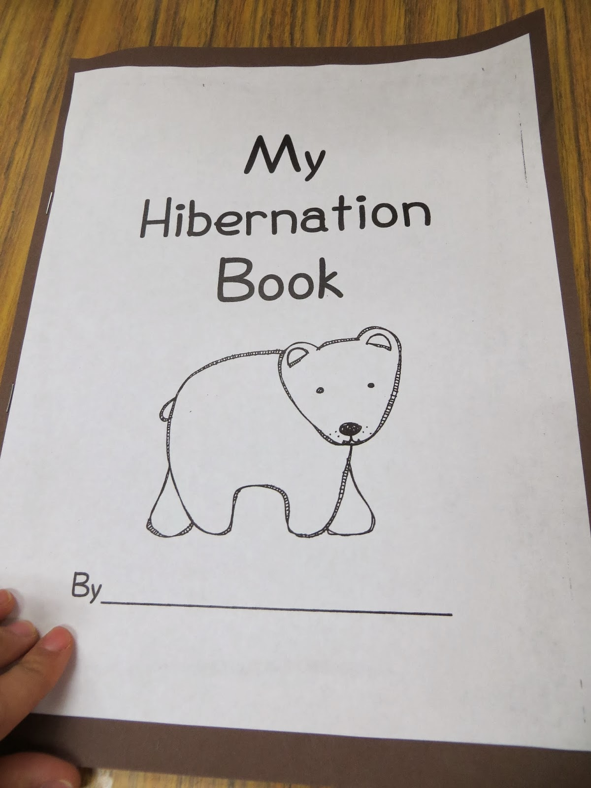 Hibernating Animals Preschool