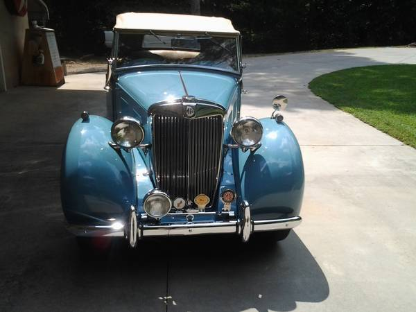 Restored 1950 MG YT
